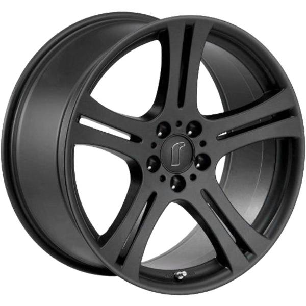 Rondell 0048 DEEP BLACK 5X112 ET40 HB70.4 H2 ALLOYWHEEL 9.5X18